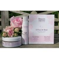 « A l'Eau de Rose » duo produktů pro hladivě jemnou gomáž